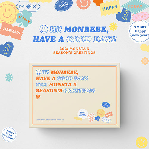 MONSTA X | 몬스타엑스 | 2021 SEASON'S GREETINGS