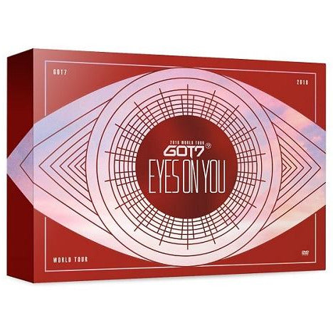GOT 7 | 갓세븐 | 2018 WORLD TOUR : EYES ON YOU  [BLU-RAY]