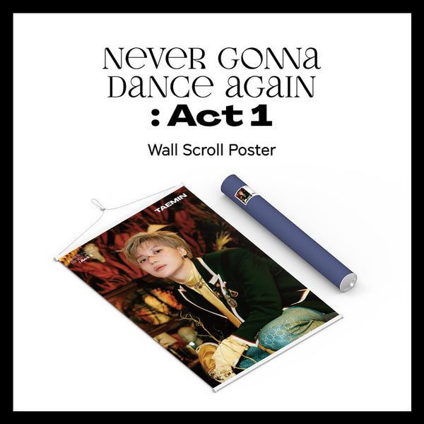 TAEMIN | 태민 (SHINEE) | WALL SCROLL POSTER
