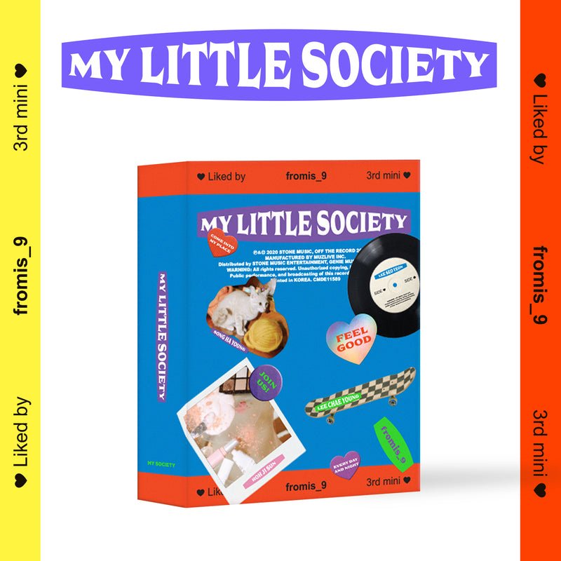 FROMIS_9 | 프로미스 9 | 3rd Mini Album : MY LITTLE SOCIETY [KIHNO KIT]
