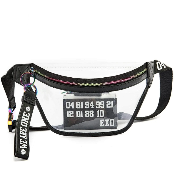 EXO | 엑소 | WE ARE ONE FANNY PACK WITH CARD WALLET & KEYCHAIN