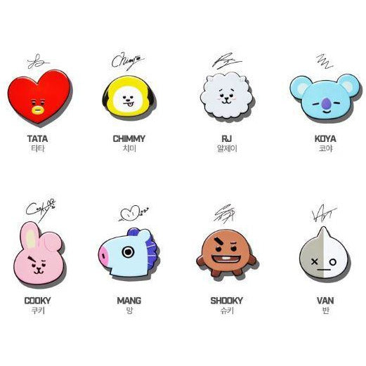 BT21 | OFFICIAL BT21 GRIPTOK (4455650000974)