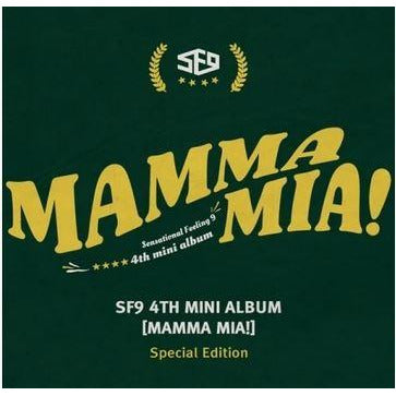 SF9 | 에스에프나인 | 4th Mini : MAMMA MIA [ Special Ed ]