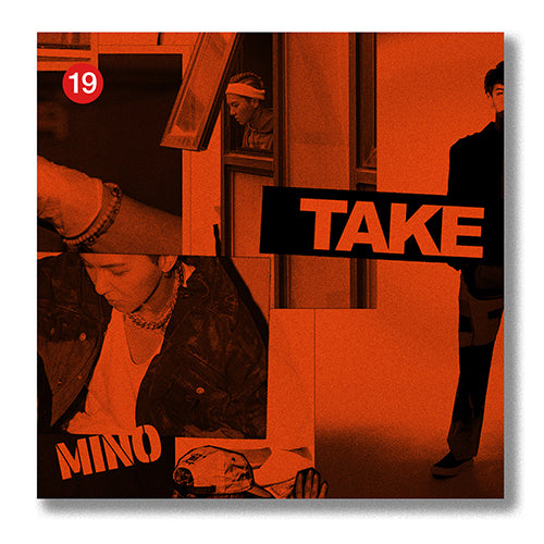 MINO | 송민호 | 2nd Full Album [TAKE] [KIHNO KIT]