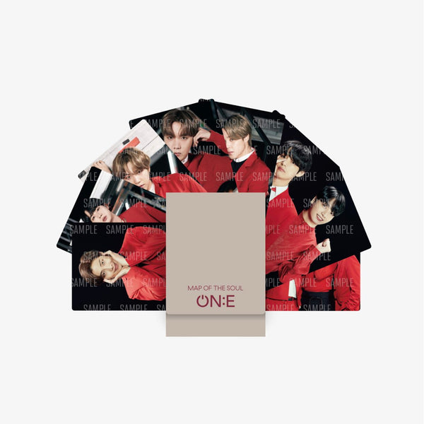 BTS | 방탄소년단 | OFFICIAL MAP OF THE SOUL ONE MINI PHOTOCARD