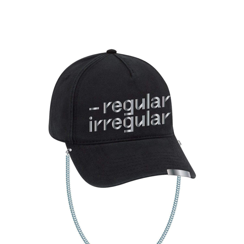 NCT 127  | 엔시티127 | Regular-Irregular Black Dad Hat with Chain
