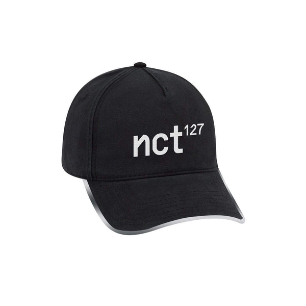 NCT 127  | 엔시티127 | Regular-Irregular Black Dad Hat with Long Strap
