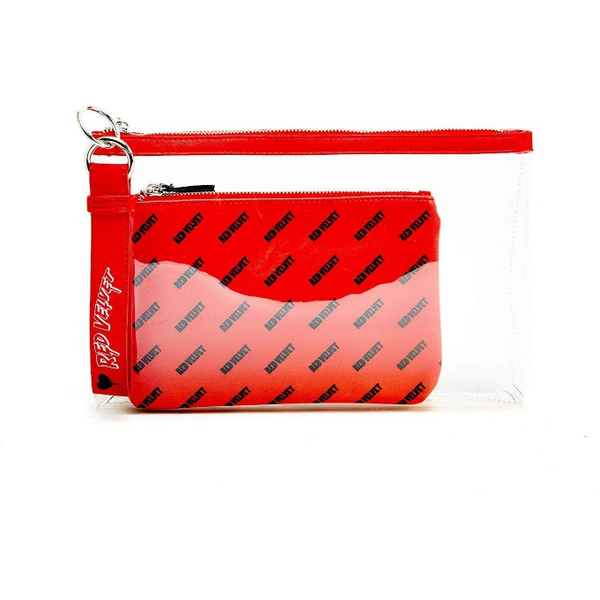 RED VELVET | 레드벨벳 | BAD BOD CLUTCH WITH MAKE UP BACK & KEYCHAIN