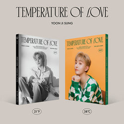 YOON JI SUNG | 윤지성 | 2nd Mini Album [Temperature of Love]