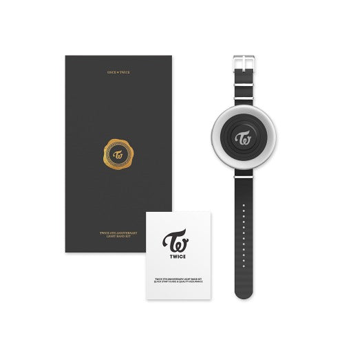 TWICE | 트와이스 | 5th Anniversary Official MD [LIGHT BAND KIT]