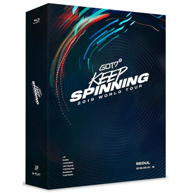 GOT 7 | 갓세븐 | 2019 WORLD TOUR : KEEP SPINNING [BLU-RAY] (4573587046478)