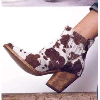 Wild Print - Woman Fashion Autumn Boots