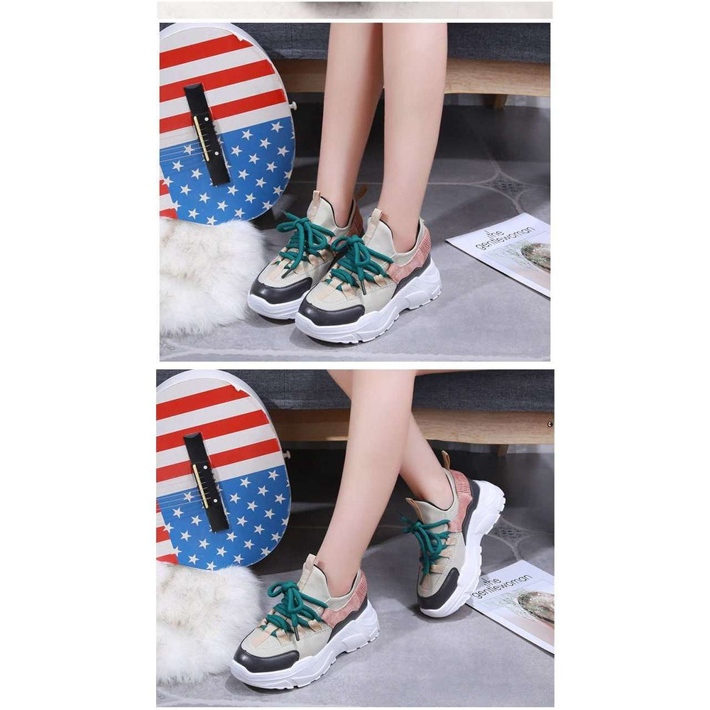 Platform Sneakers - Woman Fashion Spring Boots