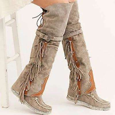 Bohemian Tassel Style - Woman Fashion Winter Boots