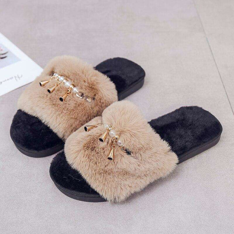 Soft Plush Fur Shoes
