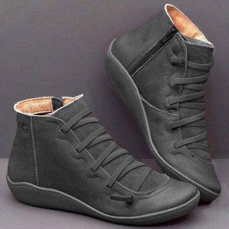Comfortable Casual Flat Boots