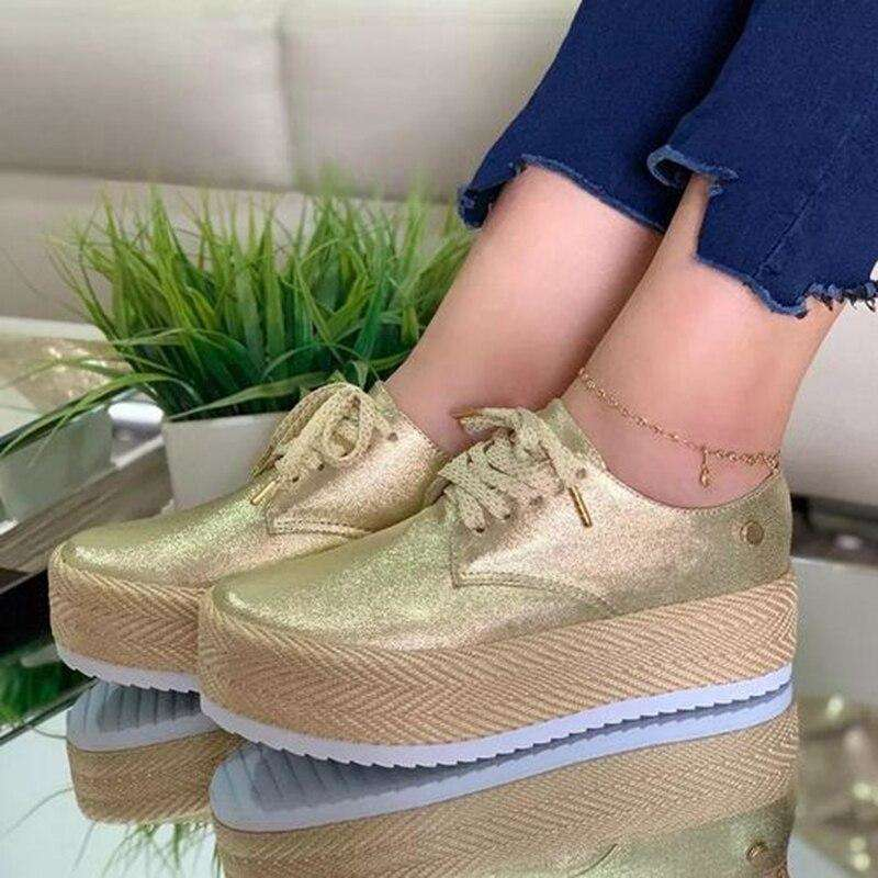 Espadrille Thick Canvas Flats Shoes