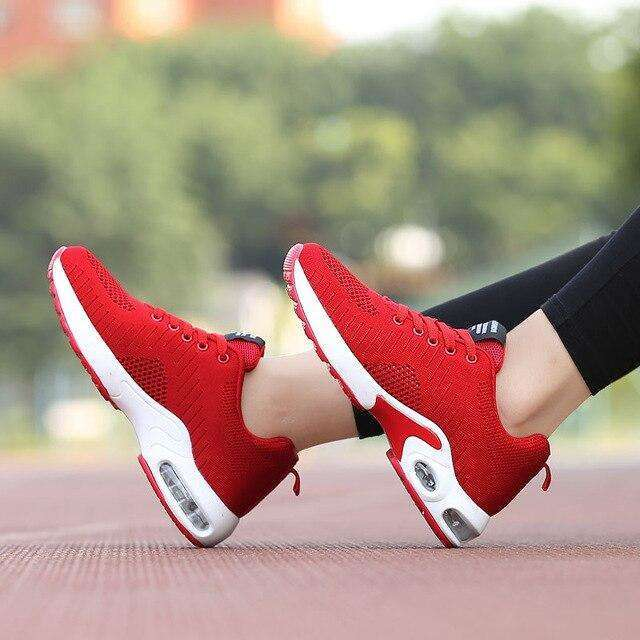 Air Mesh Cushion Sneakers