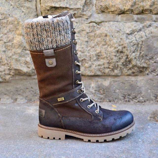 Basic Mid-Calf  Round Winter Boots