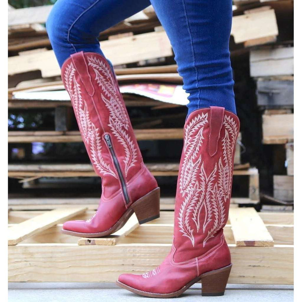 Classic Embroidered Western Cowboy Boots