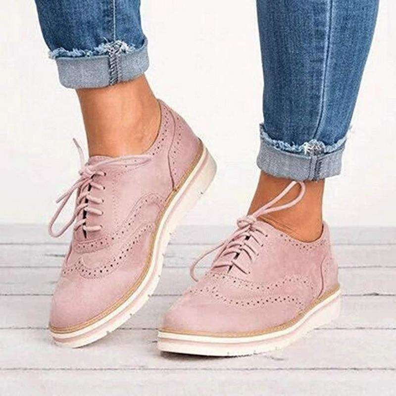 British Style Woman Platform Shoes