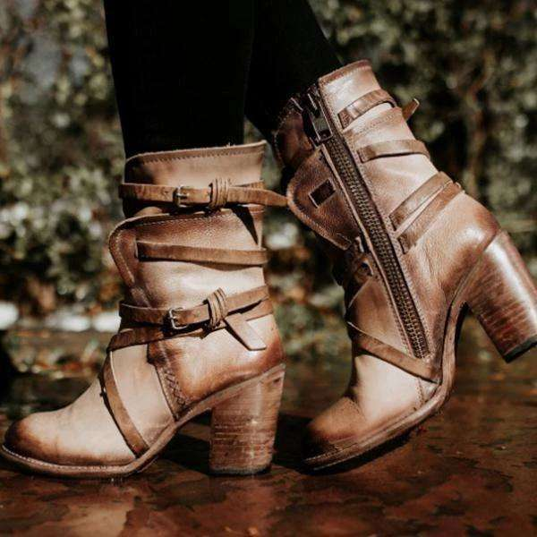Gothic Combot Boots For Women