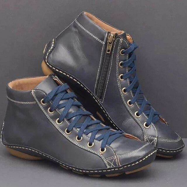 Casual Leather Winter Boots
