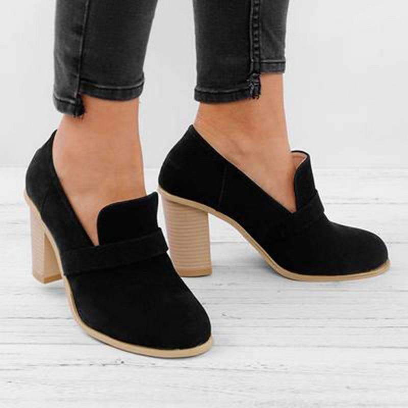 Fashion Flock Ankle Boot For Spring