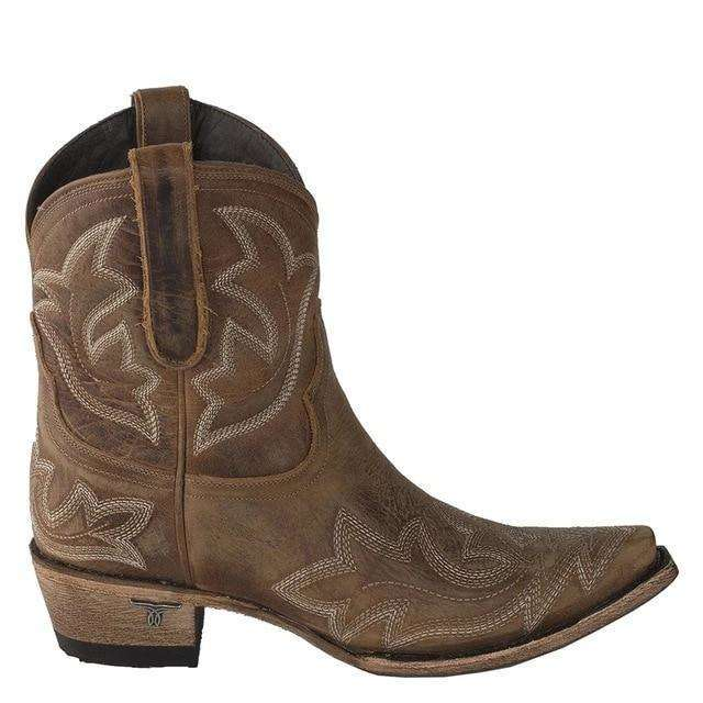 Low Cut Cowboy Designed Boots
