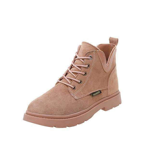 Lace-Up Women's Tied Sneaker