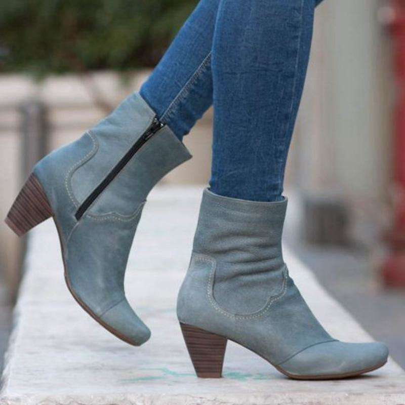 Slim Stretch Ankle Boots