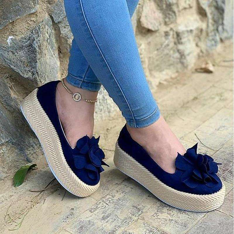 Summer Flower Casual Women Shoes