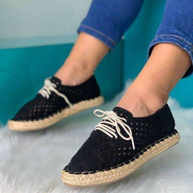 Casual Holed Women Loafers