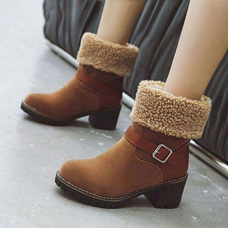 Female Ankle Buckle Strap Shoes