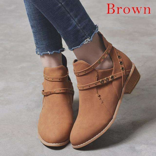 Ladies Spring Ankle Boots