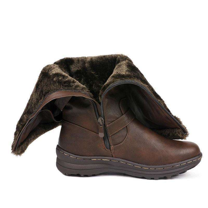 Thick Fur Snow Boots For Females