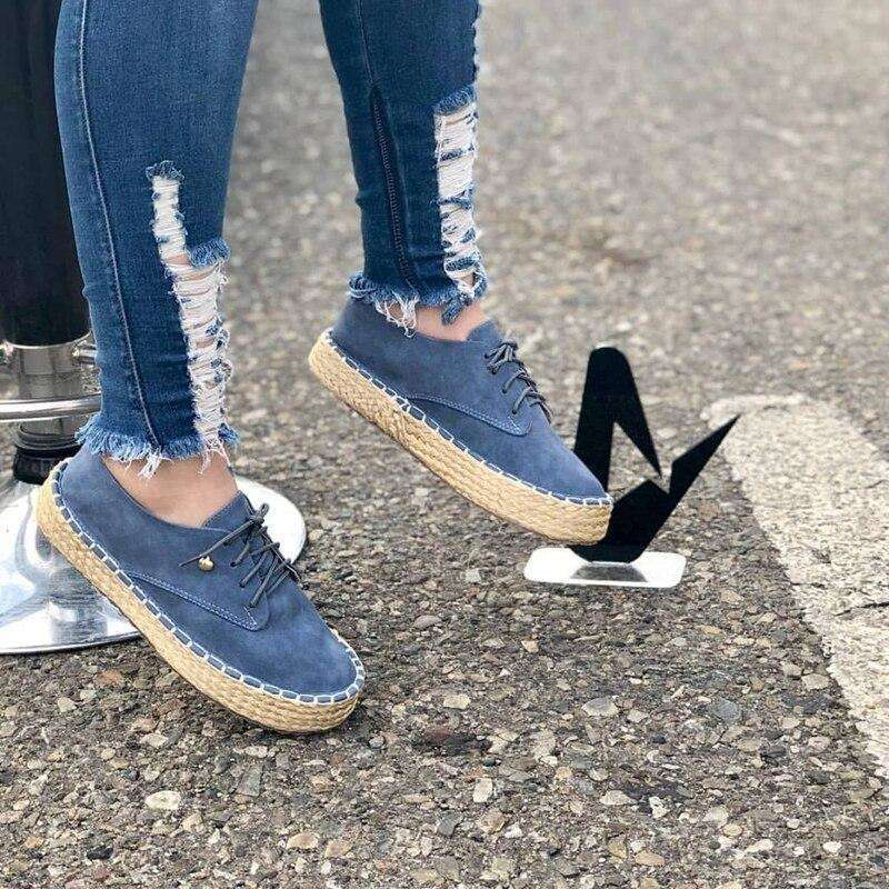 Women Fashion Thick Bottom Loafers