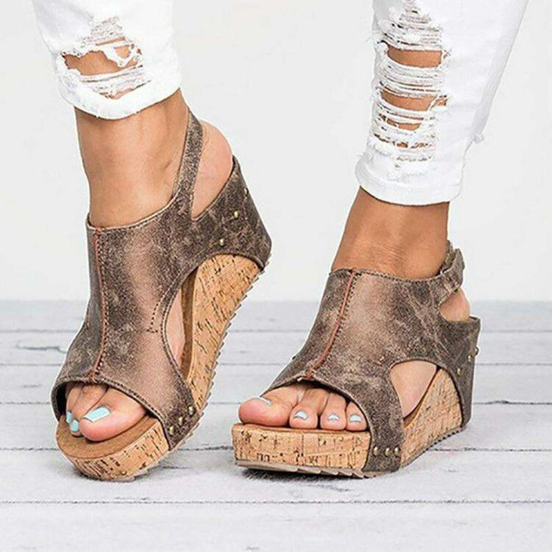 Women Platform Wedges Sandals