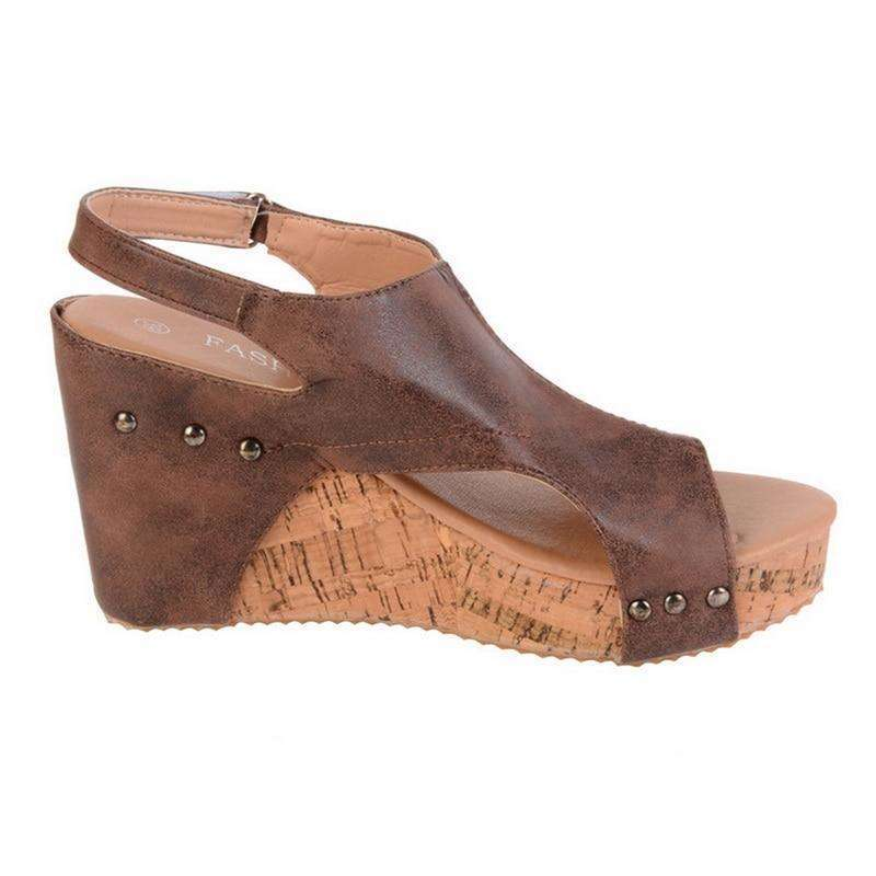 Female Wedges Summer Sandals