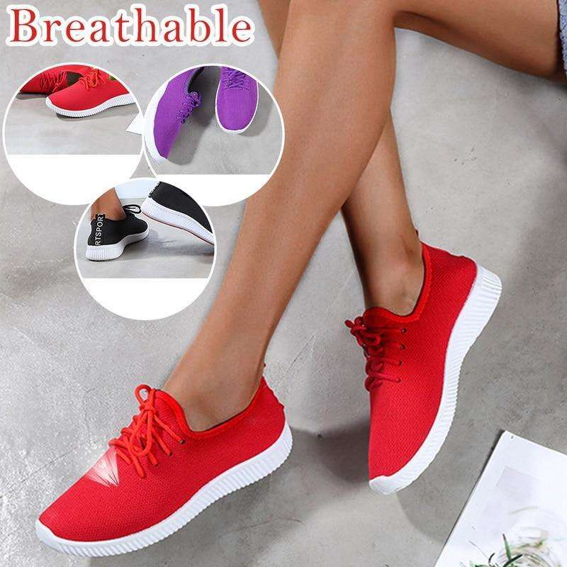 Women Breathable Tennis Sneakers