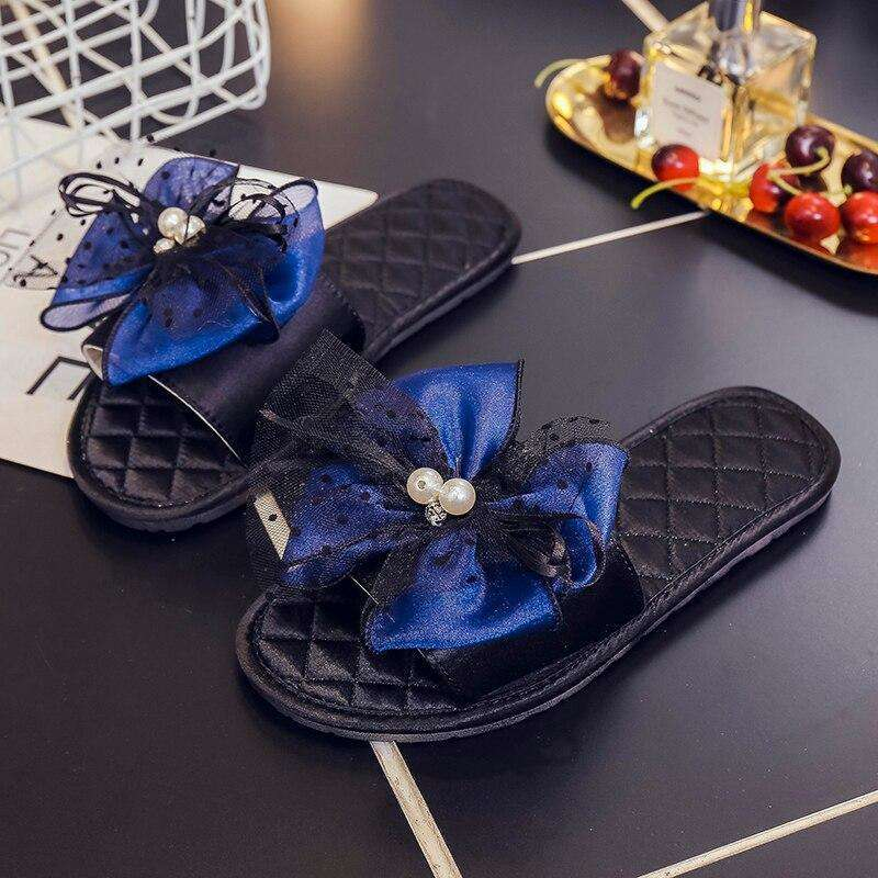 Bow Casual Beach Flip Flops