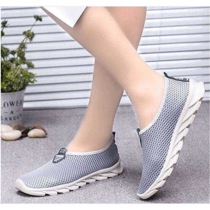 Vulcanized Walking Flat Loafers For Women