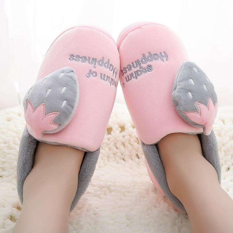 Bedroom Couple Soft Winter Slippers