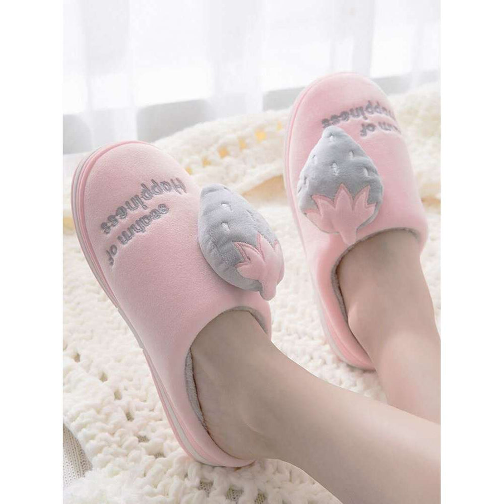 Winter Home Bedroom Slippers