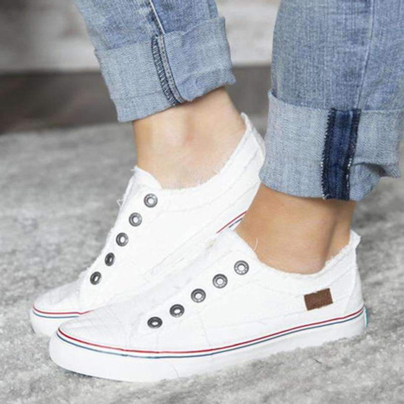 Casual Flat-soled Canvas For Summer