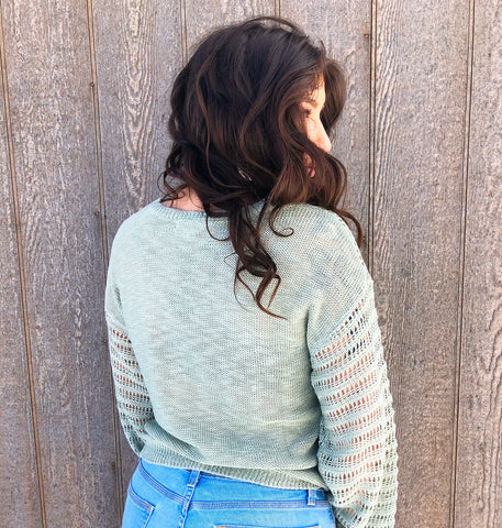 Dusty Green Sweater