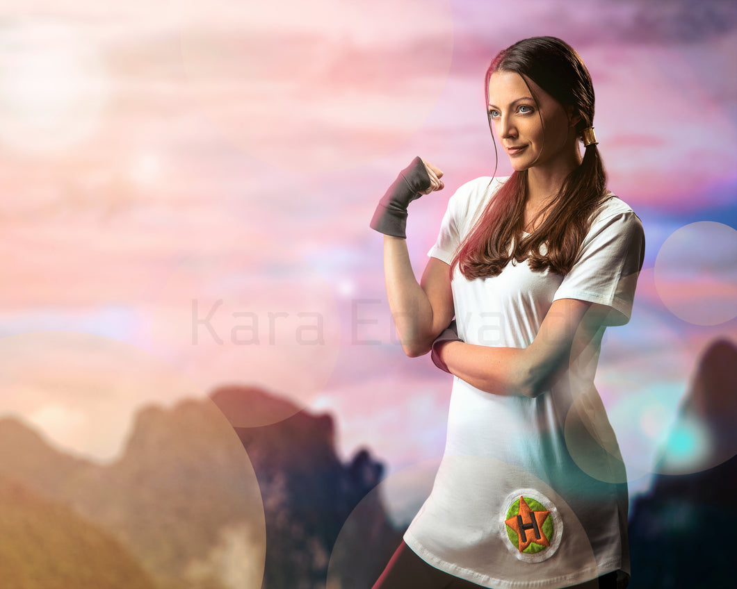 Kara Edwards Autograph 8x10 Photo - Videl Cosplay #2