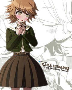 Kara Edwards Autograph 8x10 Photo - Danganronpa
