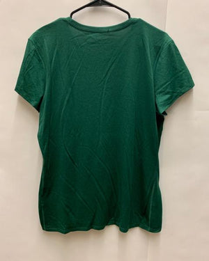 Nike Green and White Dri-Fit Women's Shirt Size Extra Large