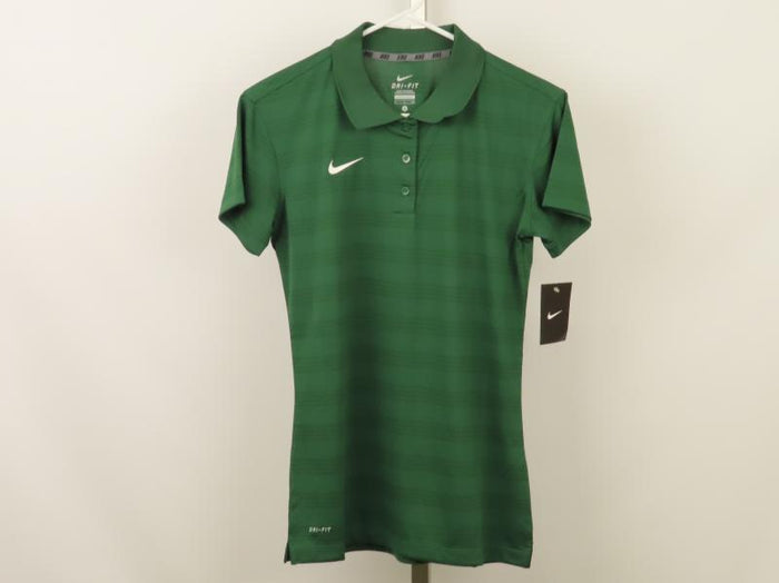 Nike Green Dri-Fit Polo Women's Size Small